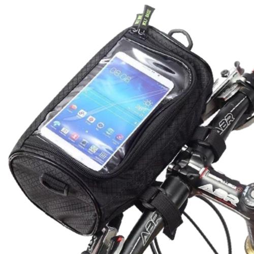 Сумка-Кейс держатель на электросамокат для телефона. Wolf Base Черная L