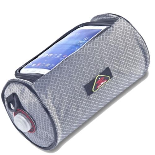 Сумка-Кейс держатель на электросамокат для телефона. Wolf Base Серая XL