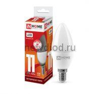 Лампа светодиодная LED-СВЕЧА-VC 11Вт 230В Е14 6500К 820Лм IN HOME