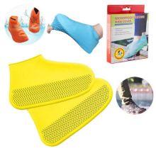 Водонепроницаемые защитные чехлы для обуви, размер M, Жёлтый