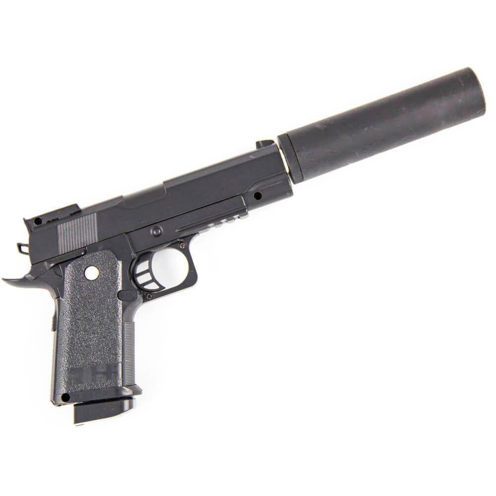 Игрушечный пистолет с глушителем Valour Herald D.1A