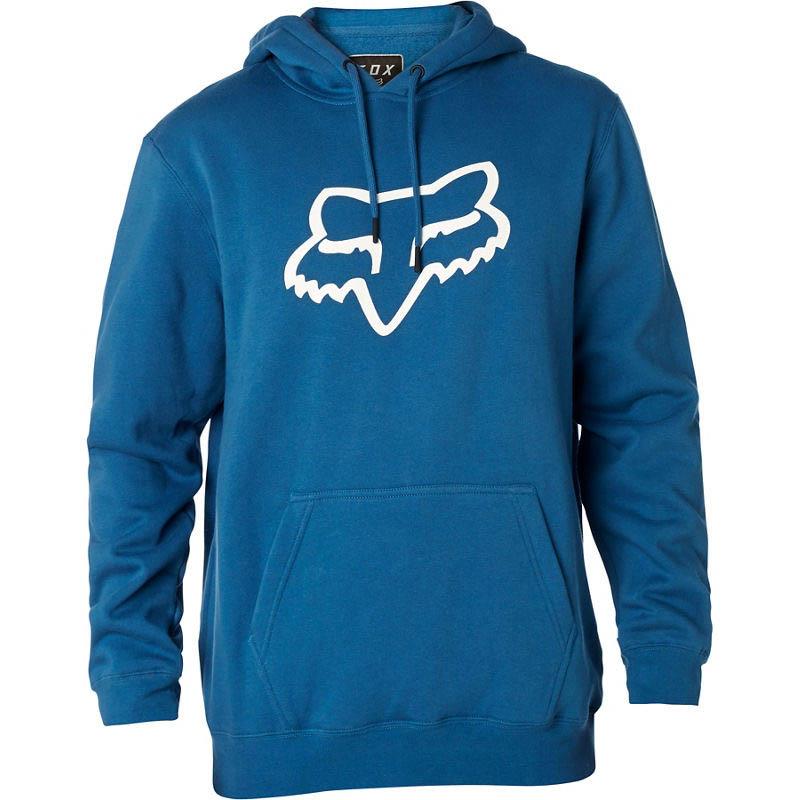 Fox - Legacy Foxhead Pullover Hoodie Dust Blue толстовка, синяя