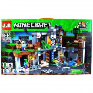 """Конструктор Minecraft """"Приключения в шахтах """" 734 дета"""
