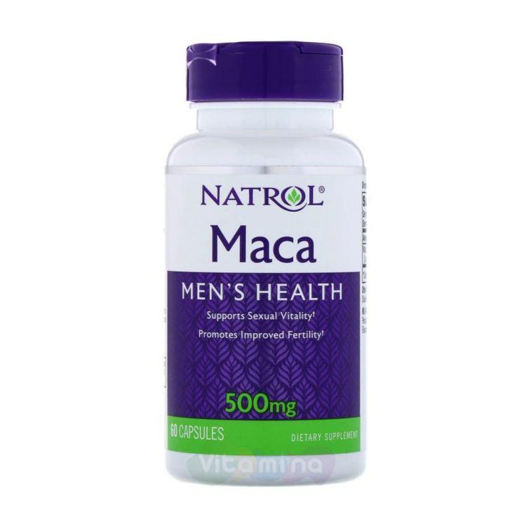 Maca (Мака) 500 мг, 60 капсул