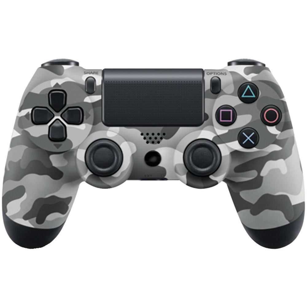 Джойстик для Playstation 4 Геймпад, Ps4, Серый камуфляж