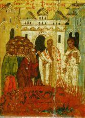 Икона Урпасиан Никомидийский мученик