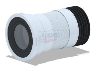 Удлинитель гибкий для унитаза (280-550мм)