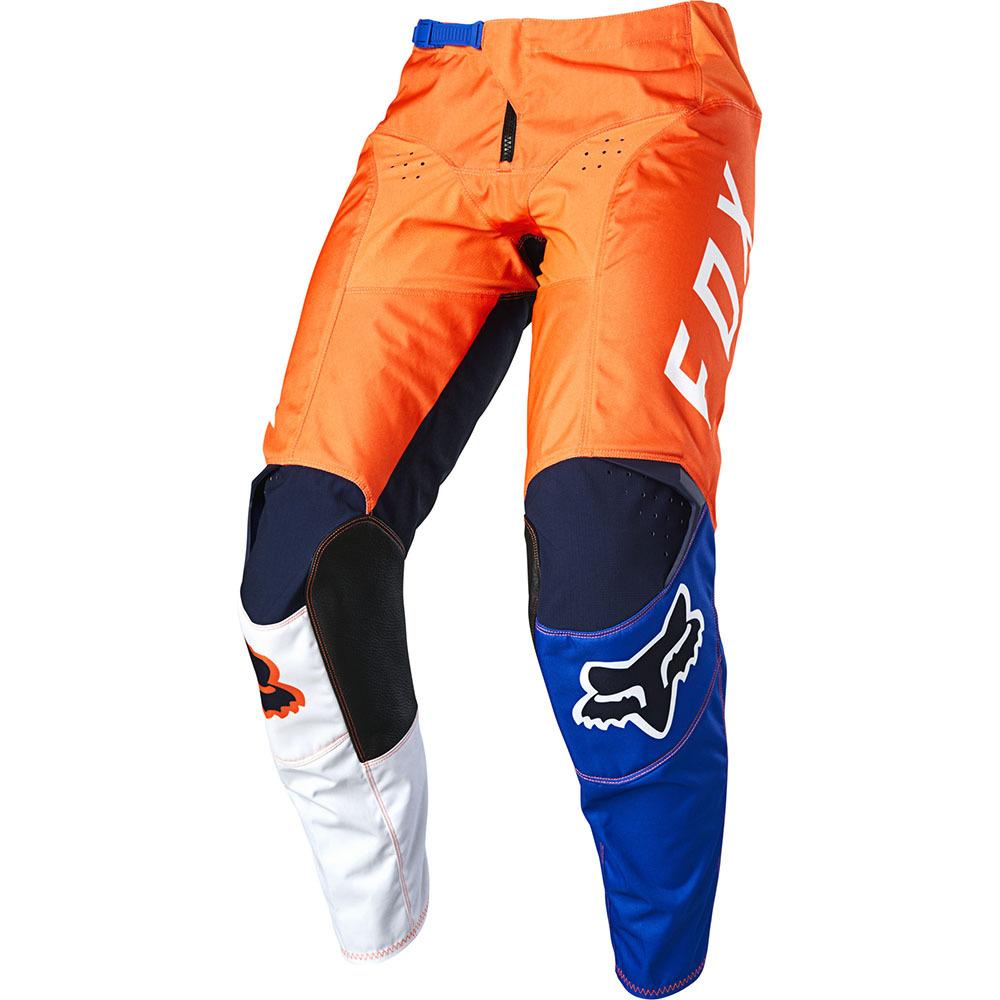Fox - 2020 180 LOVL SE Youth Orange/Blue штаны подростковые, оранжево-синие