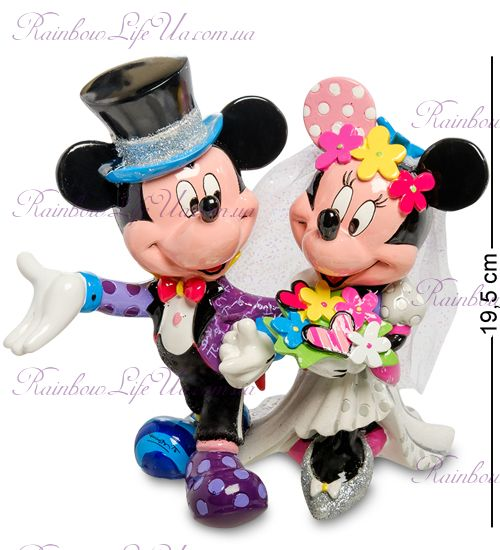 "Фигурка Свадьба Микки Маус и Минни ""Disney. Britto"""