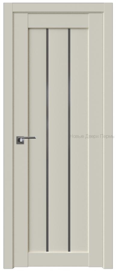 49U МАГНОЛИЯ САТИНАТ стекло Графит - PROFIL DOORS межкомнатные двери