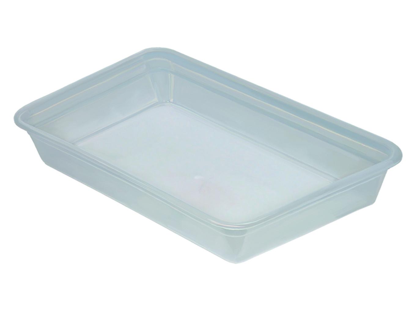 Лоток прозрачный для пищевых продуктов 7л.