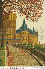 ТМ020 Барвиста Вышиванка. Неприступный Испанский Дворец. А2 (набор 3950 рублей)
