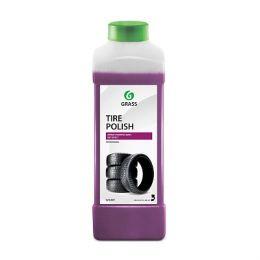 Полироль-чернитель шин Grass Tire Polish 1л цена, купить в Челябинске/Автохимия и автокосметика