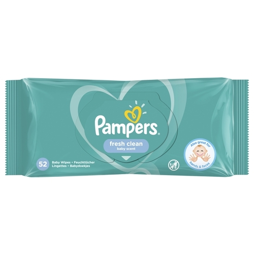 Pampers Fresh Clean 52шт