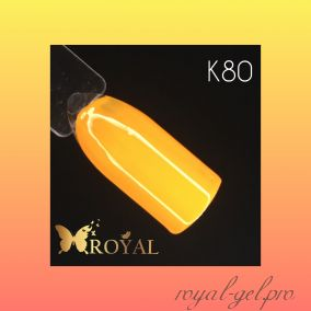 K80 Royal CLASSIC гель краска 5 мл.