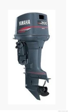Лодочный мотор Yamaha 200 AETX - 2х-тактный