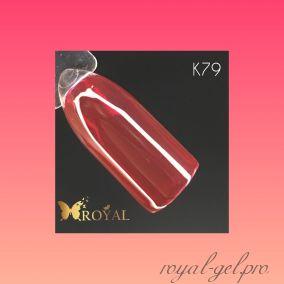 K79 Royal CLASSIC гель краска 5 мл.