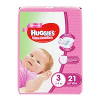 "Huggies ""Ultra Comfort 3"" 21 шт."
