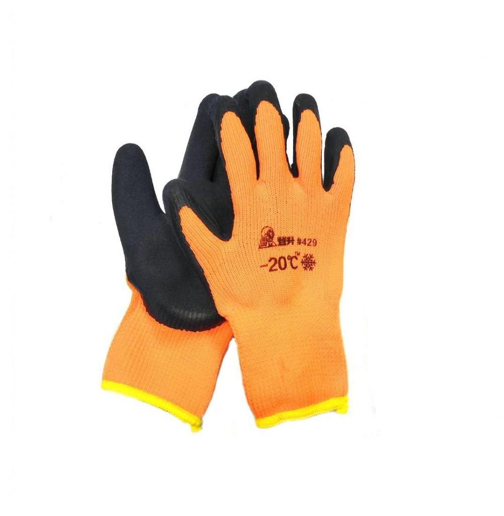 Зимние рабочие перчатки с покрытием из вспененного латекса