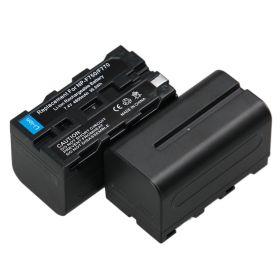 Аккумулятор NP-F770 NP-F750 для Sony