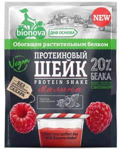 БИОНОВА Шейк протеиновый с малиной 25 г