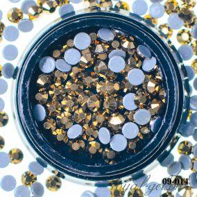 Кристал золото АВ D3 мм. 72 шт.