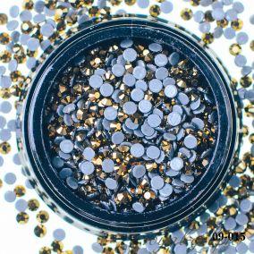 Кристал золото АВ D1,5 мм. 240 шт.