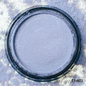Акриловая пудра Hanami с блёстками, тёмное серебро 2 гр.