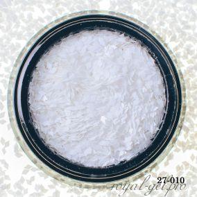 Камифубики Hanami Ромбики, белый, 1мм