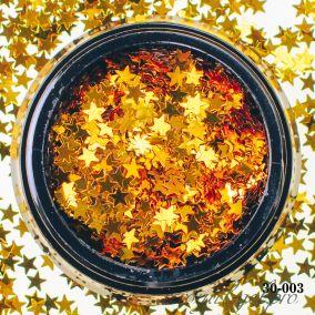 Камифубики Hanami Звезда, золото, 3мм