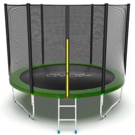 Спортивный батут с сеткой Evo Jump External 10ft Green