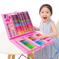 Набор для рисования в чемодане Art Set 150 предметов (цвет розовый)_1