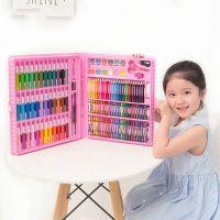 Набор для рисования в чемодане Art Set 150 предметов (цвет розовый)_3