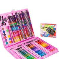 Набор для рисования в чемодане Art Set 150 предметов (цвет розовый)_4