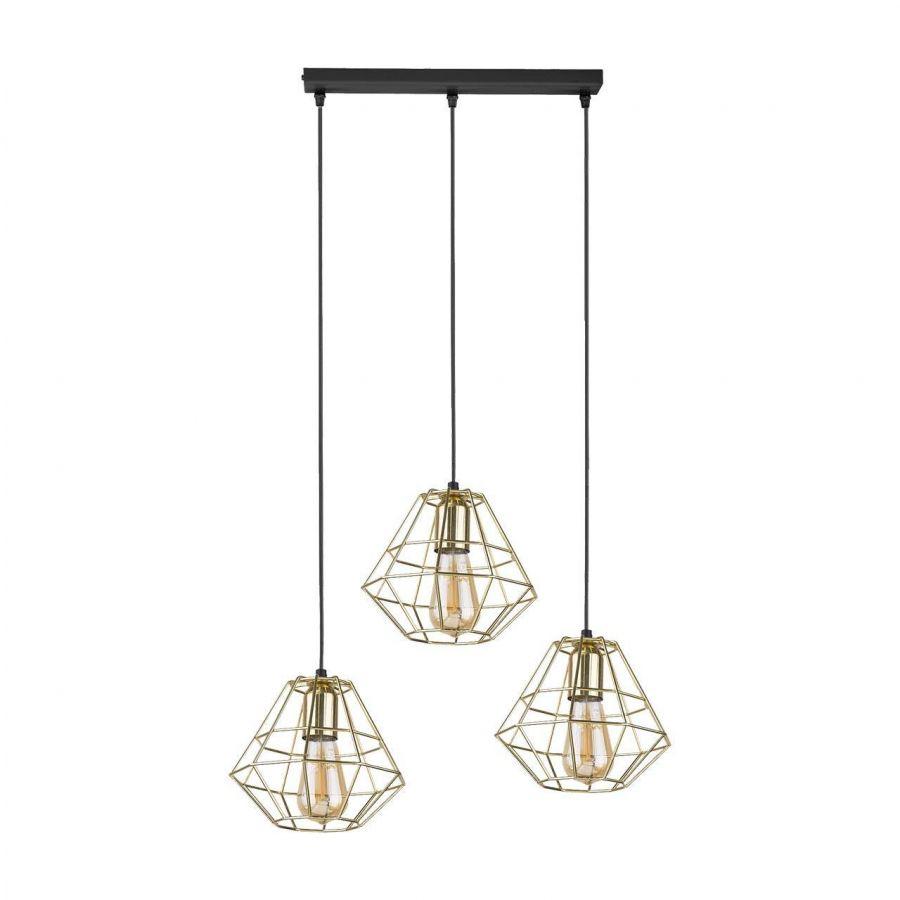 Подвесной светильник TK Lighting 4111 Diamond Gold