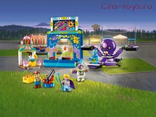 Конструктор LARI Toy 4 Парк аттракционов Базза и Вуди 11321 (Аналог LEGO Toy Story 10770) 252 дет
