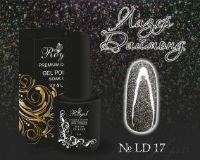"Royal гель лак ""Лазер Даймонд""  10 мл LD017"
