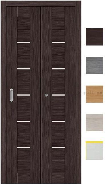"""Складная дверь """"Порта-22"""" экошпон гармошка"""