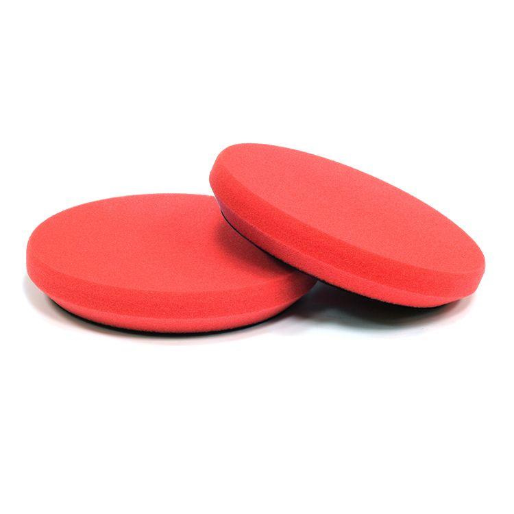 Menzerna Сверхпрочный поролоновый полировальный диск, повышенной износостойкости, красный, 130мм.