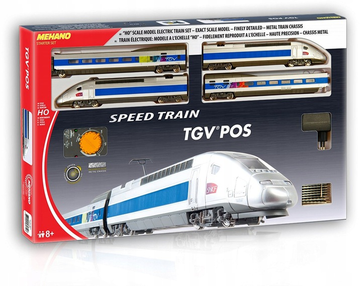 Железная дорога MEHANO TGV Pos T103