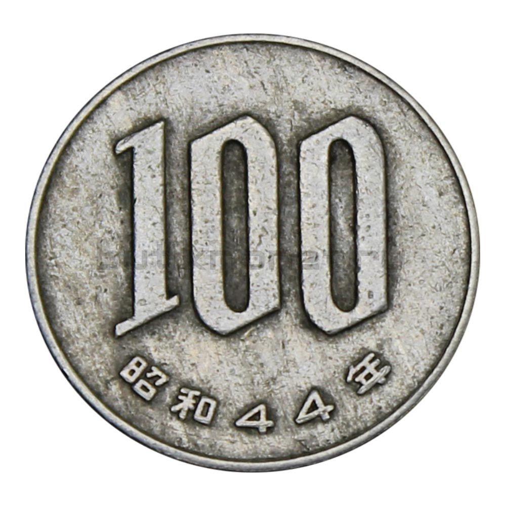 100 йен 1969 Япония