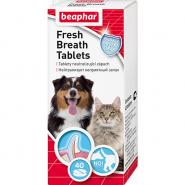 Beaphar Fresh Breath Tablets Таблетки от запаха из пасти для кошек и собак, 40 табл