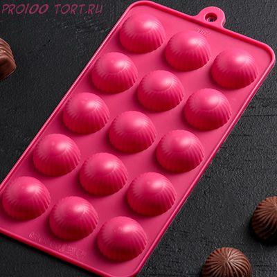Форма для шоколада и карамели КОНФЕТЫ