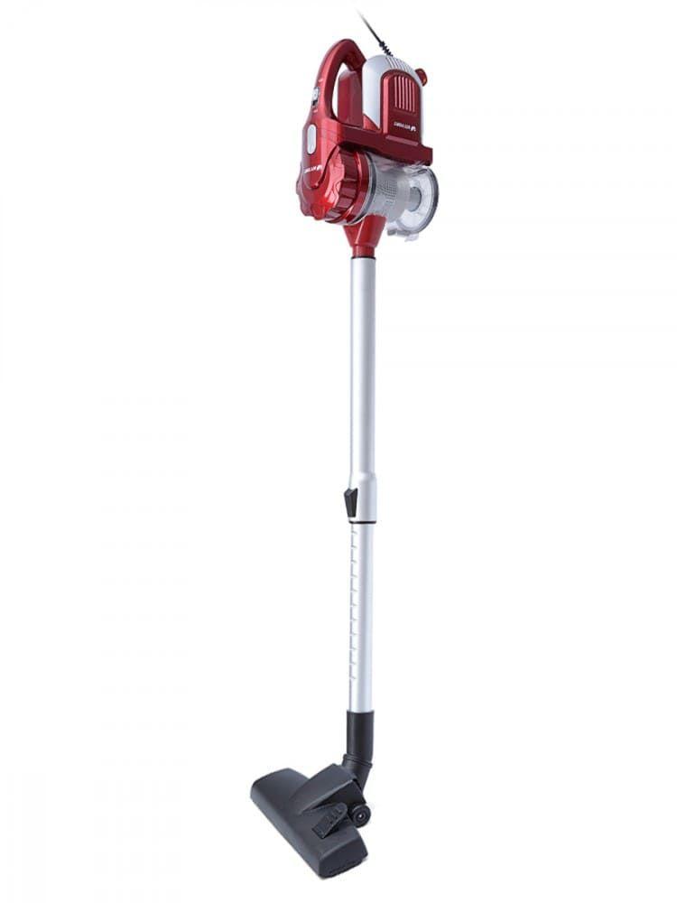 Вертикальный пылесос KitFort КТ-524-1 красно-серый