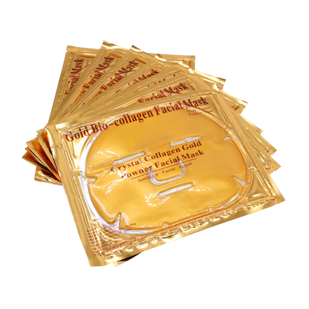 Коллагеновая золотая маска Collagen Crystal facial Mask (Gold)