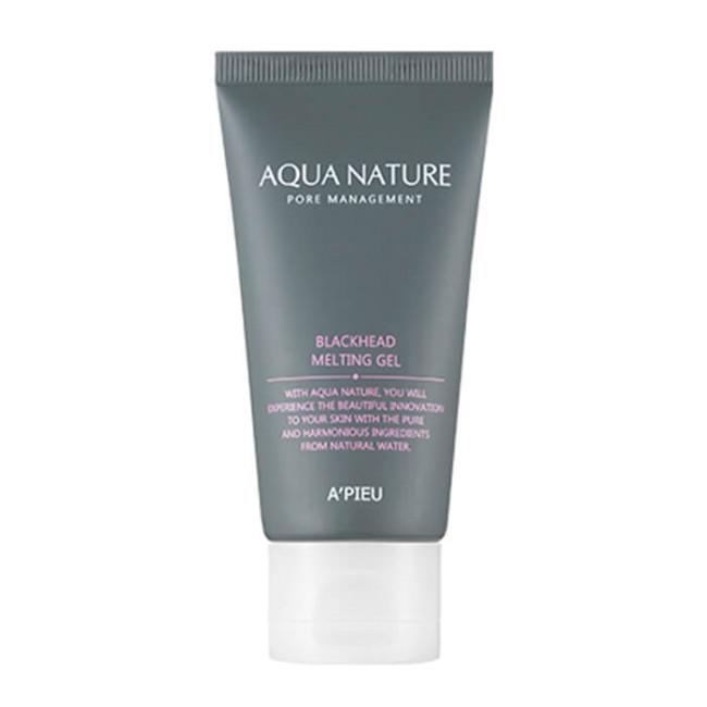 Регулярная маска A'PIEU Aqua Nature Blackhead Melting gel