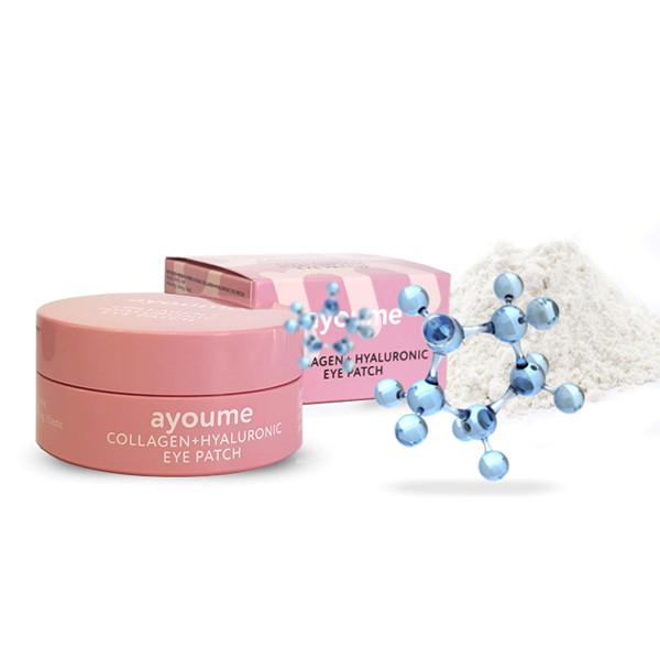 Увлажняющие патчи для глаз AYOUME Collagen + Hyaluronic Eye Patch
