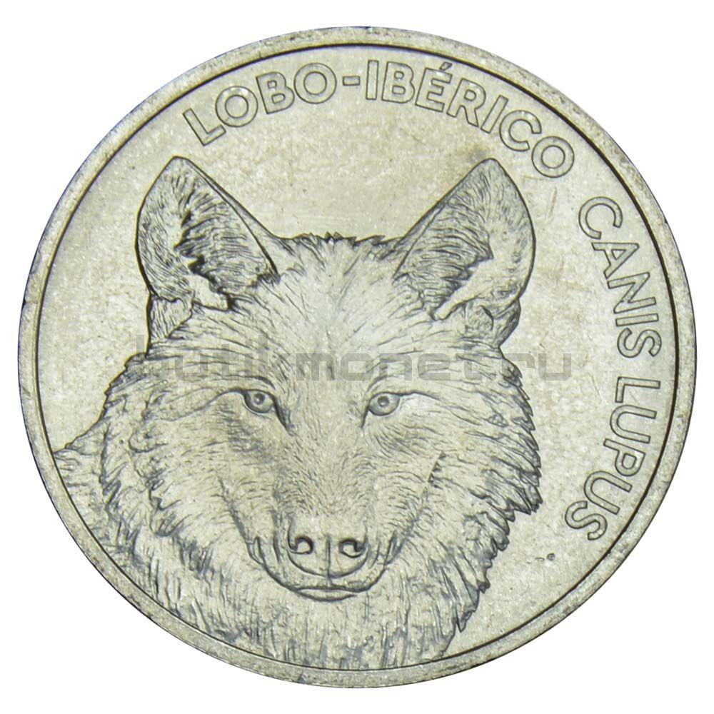 5 евро 2019 Португалия Иберийский волк