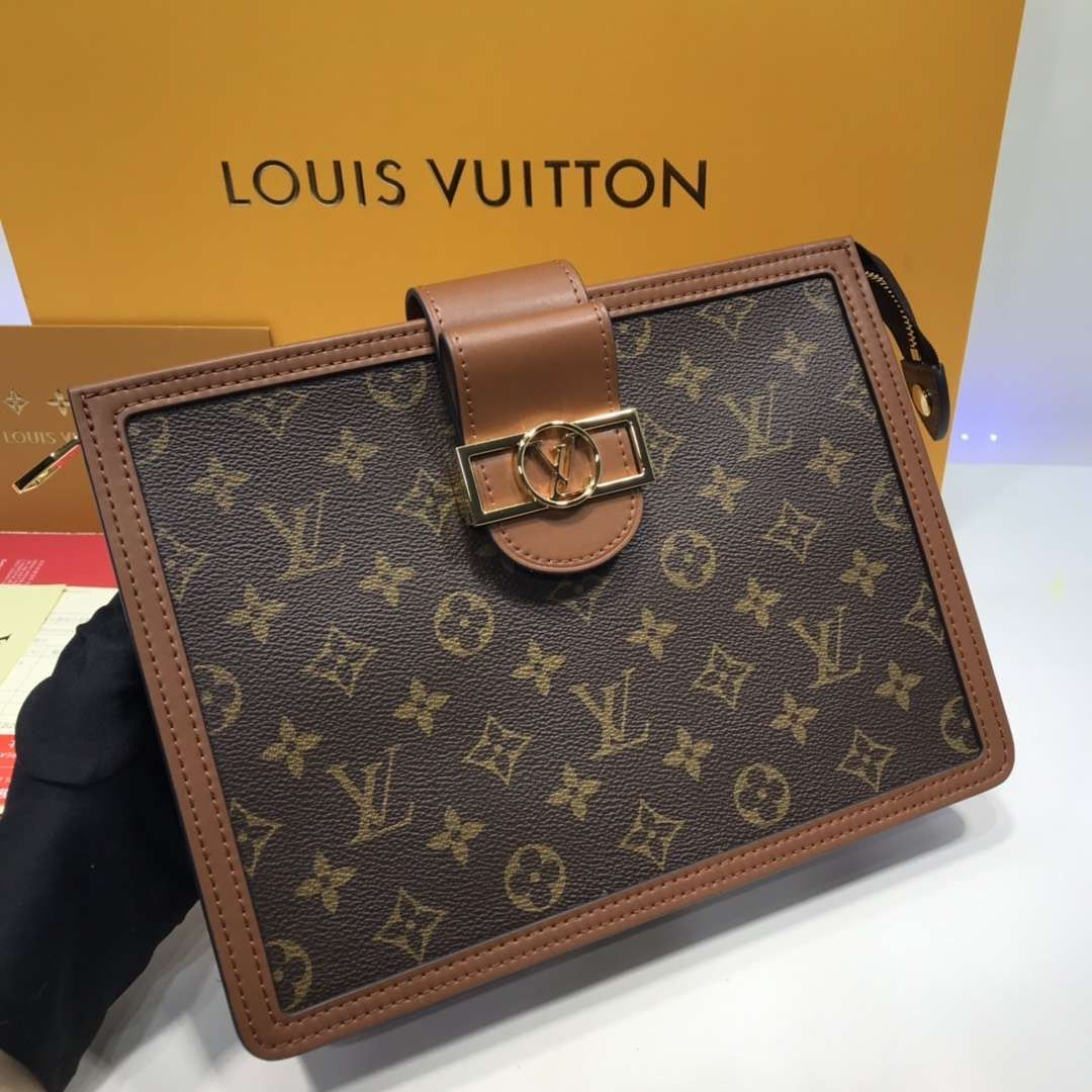 Папка клатч Louis Vuitton Dauphine