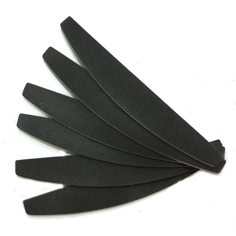 Пилка чёрная 180/240 (банан) Китай уп.25шт